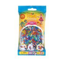 Hama Beads – Glitter Mix (1000 Midi Beads)