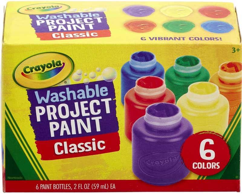 Washable Kids Paint 6 Pack