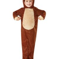 Toddler Monkey Costume, Light Brown (Age 3-4)