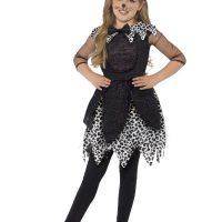 Deluxe Midnight Cat Costume, Black (Small)