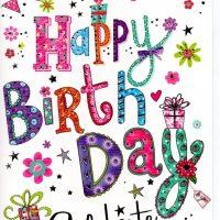Happy Birthday Card Female