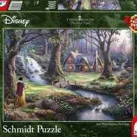 Schmidt Jigsaw Puzzle Thomas Kinkade: Disney Snow White 1000 pieces