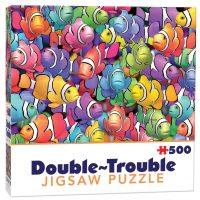Double-Trouble Puzzle Clowns
