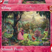 Schmidt Jigsaw Puzzle Thomas Kinkade: Disney Sleeping Beauty 1000 pieces