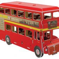 Build Your own 3D Mini London Bus 66 pieces