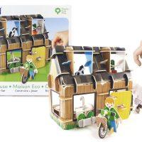 PlayPress Eco House Playset