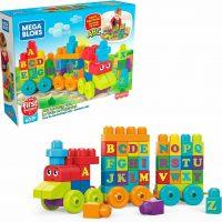 Mega Bloks 50 Piece ABC Learning Train