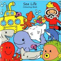 Sea Life Colouring Book
