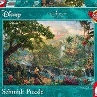 Schmidt Jigsaw Puzzle Thomas Kinkade: Disney The Jungle Book 1000 pieces