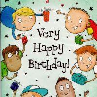 Happy Birthday Card Male