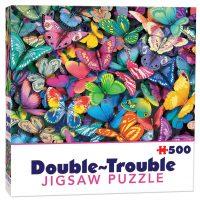 Double-Trouble Puzzle Butterflies