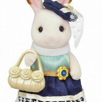 Sylvanian Families 6002 Chocolate Rabbit Town Girl Series Playset