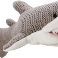 Knitted Shark 12.5in