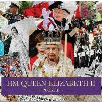 HM Queen Elizabeth II Montage Jigsaw Puzzle 1000 pieces
