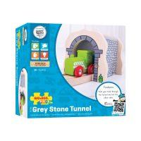Bigjigs Grey Stone Tunnel