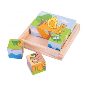 BigJigs Dinosaur Cube Puzzle
