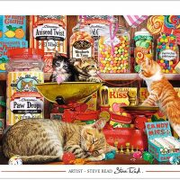 Cat's Sweets Jigsaw Puzzle 1000 Pieces