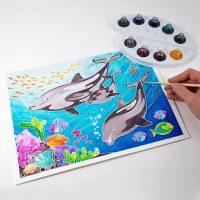 Aquarellum Kit Dolphins