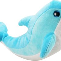Plush Dolphin 13 inches Blue