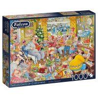 Country House Retreat Falcon De Luxe 1000 Pieces Jigsaw Puzzle