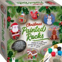 Christmas Painted Rocks Gift Set