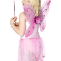 Butterfly Wings & Wand, Pink