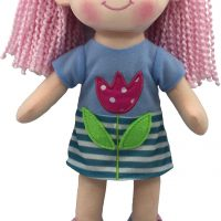 Ellen Rag Doll – 12 inches Stripy Dress
