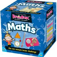BrainBox Maths (55 Cards) – (Supports Key Stage 2 – Ages 7-11)