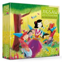 An Usborne Jigsaw with a Picture Book Snow White and the Seven Dwarfs 30 pieces