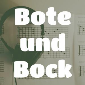 Bote und Bock