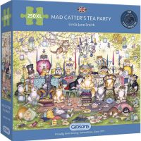Gibsons Mad Catter's Tea Party  250XL pieces