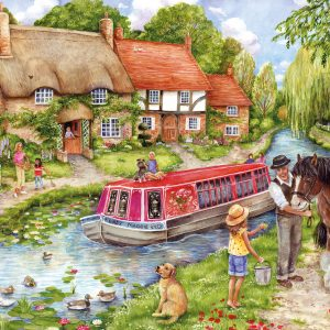 Gibsons Drifting Downstream 500pc Jigsaw Puzzle