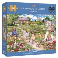 Gibsons Childhood Memories 500 pieces