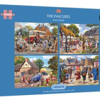 Gibsons The Evacuees 4 x 500 pieces