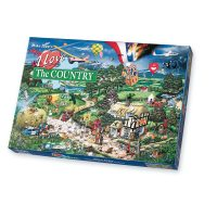 Gibsons I Love the Country 1000 pieces