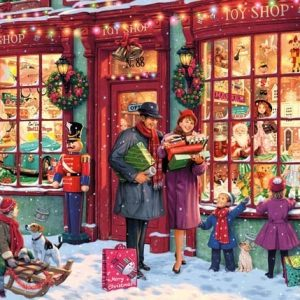Gibsons Christmas Toy Shop 1000pc Jigsaw Puzzle