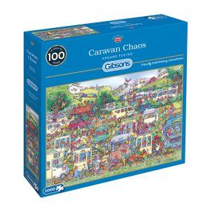 Gibsons Caravan Chaos 1000pc Jigsaw Puzzle