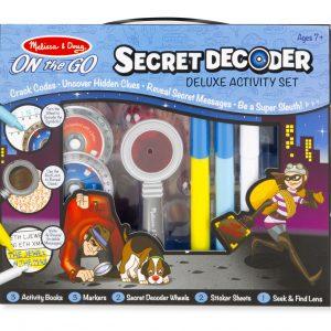 Melissa and Doug Secret Decoder Deluxe Activity Kit