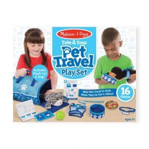 Melissa and Doug Tote & Tour Pet Travel Play Set