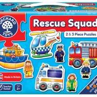 Orchard Toys Rescue Squad 2 and 3 piece puzzles