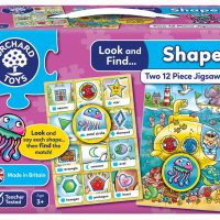 Orchard Toys Look & Find Shape Learning Puzzles