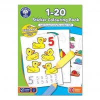 Orchard Toys Colouring Book – 1-20