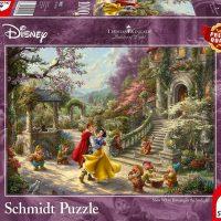 Schmidt Jigsaw Puzzle Thomas Kinkade: Disney Snow White – Dancing with the Prince 1000 pieces
