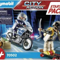 Playmobil Starter Pack City Action Police Chase 70502 Age 4 – 10