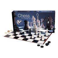 Gibsons Chess & Draughts Set Game