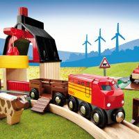 Brio Farm Railway Set  for Wooden Train Set 33719
