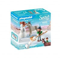 DreamWorks Spirit Snowman with Snips and Senor