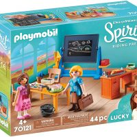 Playmobil DreamWorks Spirit 70121 Miss Flores' Classroom