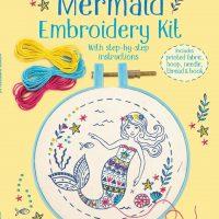 Embroidery Kit Mermaid
