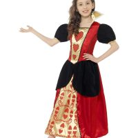 Miss Hearts Costume, Red (Small)